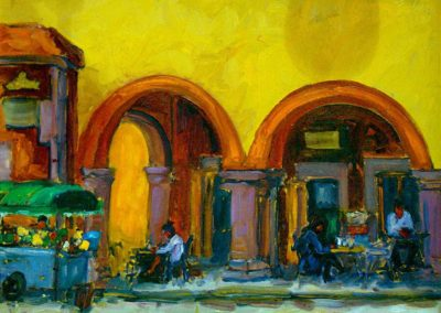 Cafe on San Miguel Square