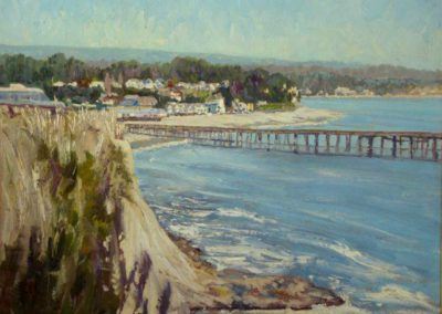 Capitola Beach and Pier