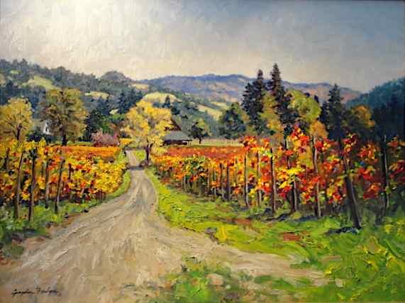 Philo Vineyard, California