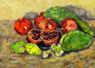Pomegranates and Cacti