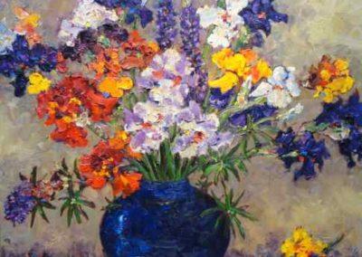 Spring Iris Bouquet