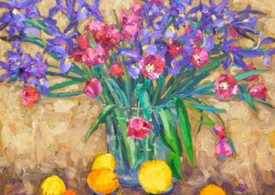 Spring Tulip and Iris