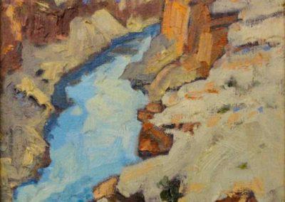 Vermilian Cliffs from Navajo Bridge